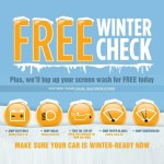FREE Halfords Winter Car Check + Free Screen Wash - Gratisfaction UK