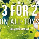 BARGAIN 3 For 2 On All Toys At Argos - Gratisfaction UK