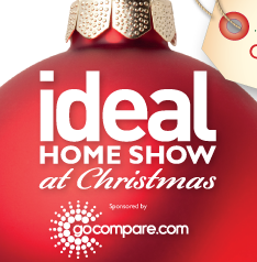 free ideal home show christmas tickets at olympia london