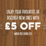 VOUCHER CODE £5 Off Food And Drinks Bills Over £25 At Harvester - Gratisfaction UK