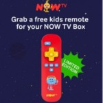 FREE Kids Remote For NOW TV - Gratisfaction UK