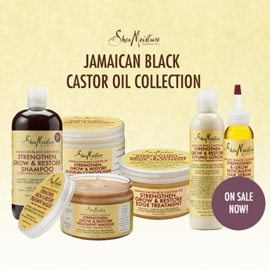 Free Shea Moisture Jamaican Black Castor Oil Sample