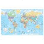 FREE Glossy Map Of the World Wallchart With The Daily Mail - Gratisfaction UK