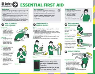 Free St John Ambulance First Aid Guide Gratisfaction Uk