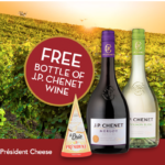 FREE Bottle of JP Chenet Wine (with purchase)