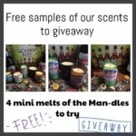 FREE Champagne And Flamingos Candle Samples