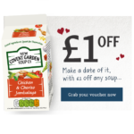 FREE Chicken & Chorizo Covent Garden Soup - Gratisfaction UK
