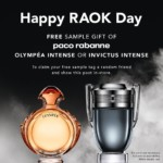 FREE Paco Rabbane Olympea Intense Sample