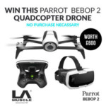 FREE Win A Parrot Bepop 2 Quadcopter Drone - Gratisfaction UK