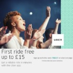 FREE £15 Uber Credit Use Code FREE17 - Gratisfaction UK