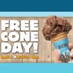 FREE Ben & Jerrys Cone Day - Gratisfaction UK
