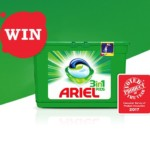 FREE 500 Ariel 3in1 Pods