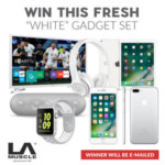 FREE 'White' Gadget Set - Gratisfaction UK