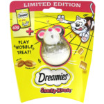 FREE Dreamies Snacky Mouse Toy - Gratisfaction UK