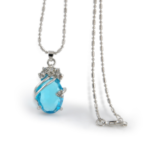 FREE Crystal Light Blue Necklace & Mood Ring - Gratisfaction UK