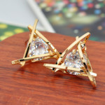 FREE Crystal Zircon Stud Earrings - Gratisfaction UK