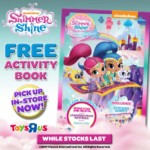 FREE Shimmer & Shine Activity Booklet