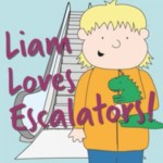 FREE Liam Loves Escalators Book & Poster