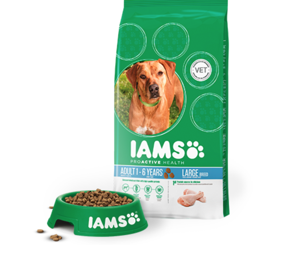 free iams proactive health dog food